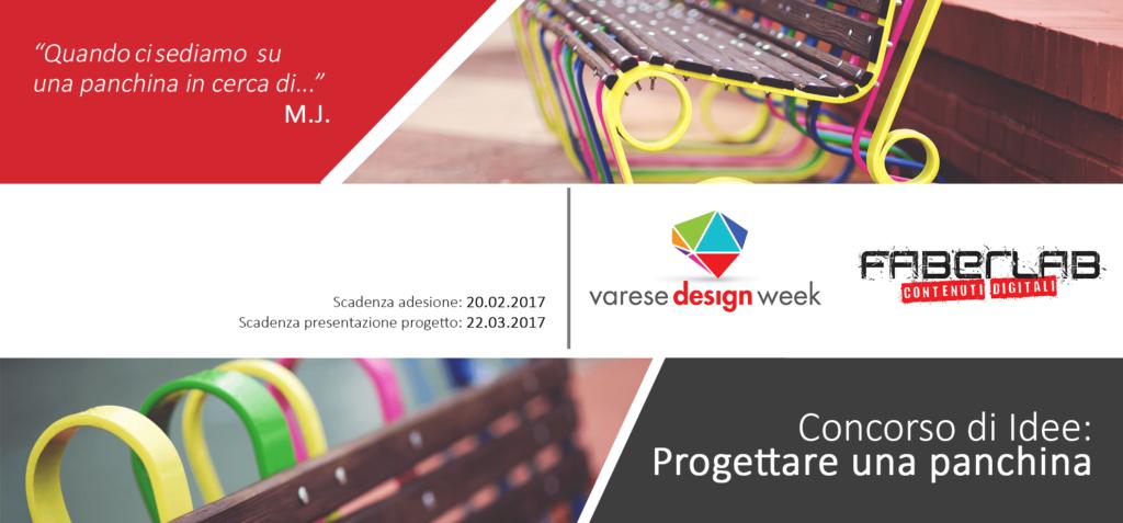 Varese Design Week, FaberLab e la panchina del futuro! - FaberLab