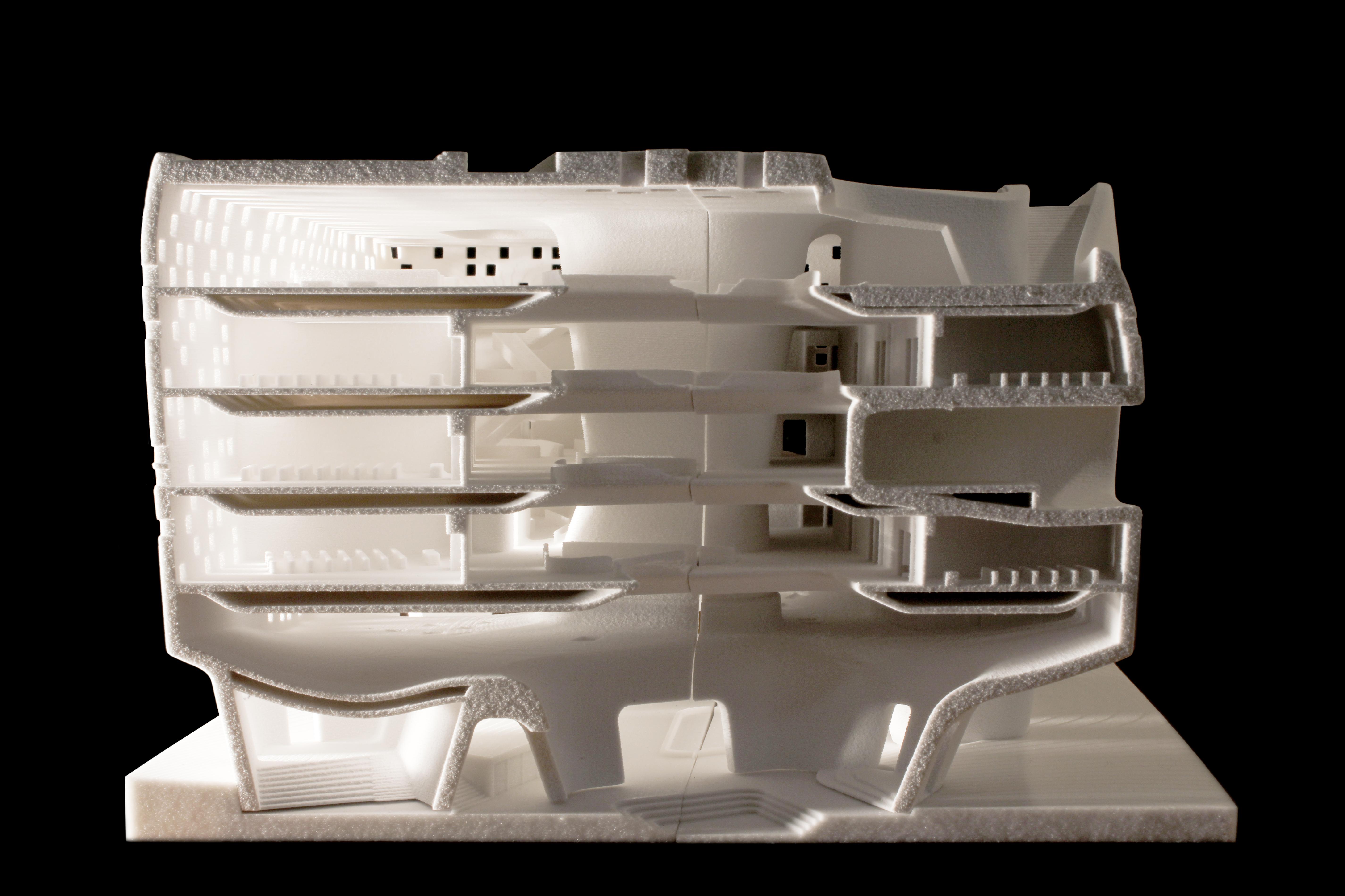 Faberlab architettura e stampa 3d tornano i modelli for Modelli case 3d